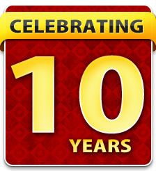 celebrating 10 years in San Bruno CA