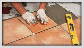 laying tile is a San Bruno Handyman specialty